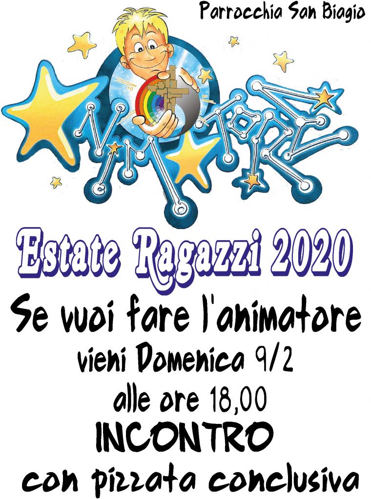 Invito animatori primo incontro_2020